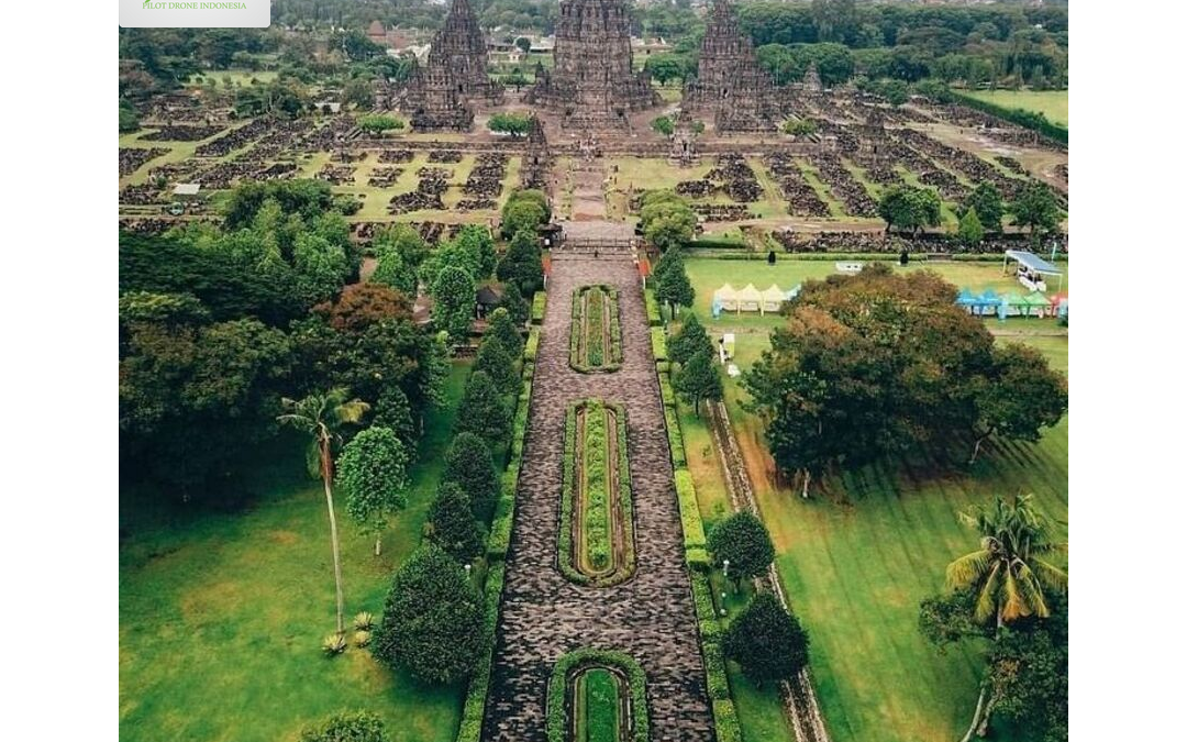 Candi Prambanan | Jasa Sewa Drone Jogja