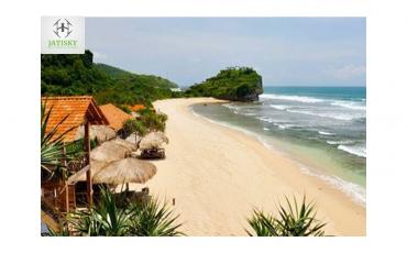 Jasa Videografi dan Fotografi Drone di Pantai Indrayanti Yogyakarta