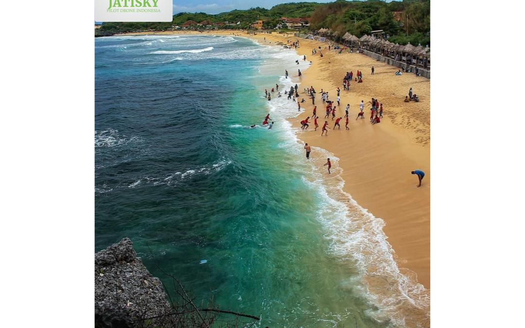 Jasa Videografi dan Fotografi Drone di Pantai Sundak Yogyakarta