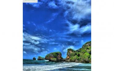 Nikmati Keindahan Pantai Siung Melalui Kamera Drone
